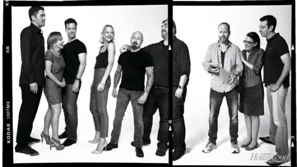 Writers room for Buffy the Vampire Slayer. Credit: The Hollywood Reporter http://www.hollywoodreporter.com/gallery/buffy-x-files-shield-murphy-520949#4-cbs-murphy-brown